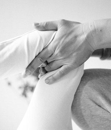 Shiatsu mit Knietechniken